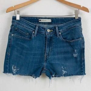 Levi's Upcycle cutout Shorts